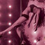 Jill's Gentleman's Club Dancer on Pole