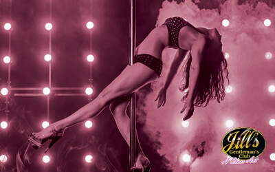 Jill's Gentleman's Club Dancer on Pole